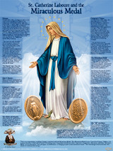 St. Catherine Laboure and the Miraculous Medal Explained Poster