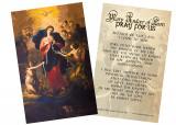 Mary Undoer of Knots General Prayer Holy Card