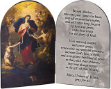Mary Undoer of Knots Marriage Prayer Arched Diptych