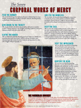 The Seven Corporal Works of Mercy Explained Poster