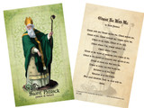 St. Patrick Holy Card