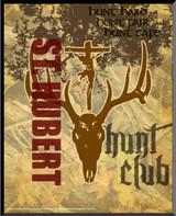 St. Hubert Hunt Club Graphic Wall Plaque