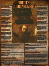 The Ten Commandments Explained Poster