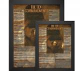 The Ten Commandments Explained Poster