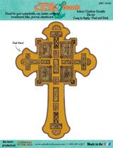 Book of Kells Cross Decal