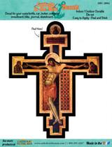 Byzantine Cross Decal