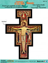 San Damiano Cross Decal
