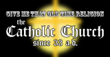 Old Time Religion Vinyl Bumper Sticker
