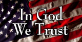 In God We Trust Vinyl Bumper Sticker