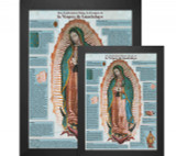 Spanish Our Lady of Guadalupe Explained Poster