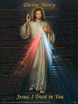 Divine Mercy Explained Poster