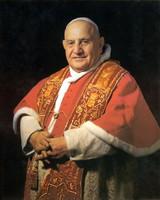 Pope John XXIII Sainthood Portrait: Fine Art Print