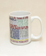 Saint Teresa of Avila Quote Mug