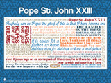 Pope Saint John XXIII Quote Poster