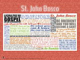 Saint John Bosco Quote Poster