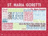 Saint Maria Goretti Quote Poster