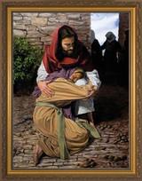 A Prodigal Daughter by Jason Jenicke - Standard Gold Framed Art