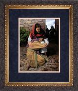 A Prodigal Daughter by Jason Jenicke Matted - Ornate Dark Framed Art