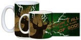 """Doing It All"" Hunting Mug"