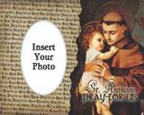 St. Anthony with Jesus Photo Frame