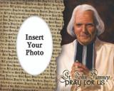 St. John Vianney Photo Frame