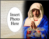 Madonna in Prayer Photo Frame
