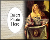 St. Veronica Photo Frame