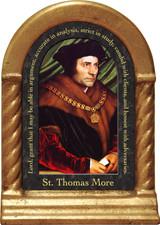 St. Thomas More Prayer Desk Shrine