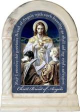 Christ, Bread of Angels Prayer Desk Shrine