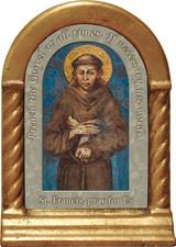 St. Francis Prayer Desk Shrine