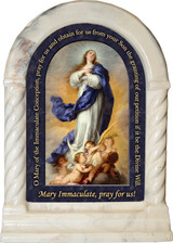 Immaculate Conception Prayer Desk Shrine