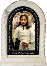 After the First Holy Communion (Detail 1 Girl) Prayer Desk Shrine