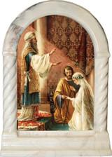 Wedding of Joseph & Mary Desk Shrine