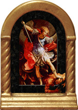 St. Michael the Archangel Desk Shrine