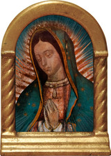Our Lady of Guadalupe Detail Desk Shrine