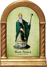 St. Patrick Desk Shrine
