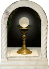 Chalice with Host Desk Shrine