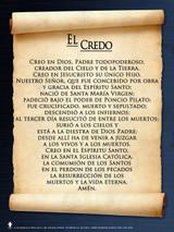 Spanish Apostles' Creed  Poster