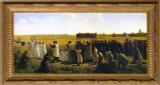 The Blessing of the Wheat - Ornate Gold Framed Art