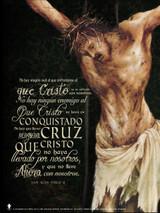 Spanish Crucifixion (JPII Quote) Poster
