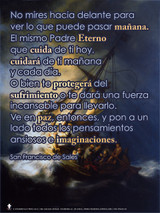 Spanish Be at Peace (St. Francis de Sales) Poster