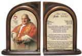 Commemorative Pope John XXIII Sainthood Prayer Bookends