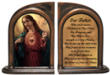 Sacred Heart of Jesus Bookends