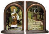 St. Hubert Hunter's Prayer Bookends