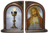Christ and Chalice Bookends