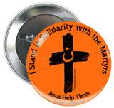 Orange Cross Project Martyr Solidarity Button