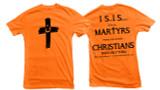 Orange Cross Project Martyr Solidarity T-Shirt