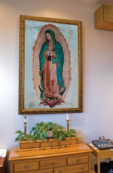 Our Lady of Guadalupe Church-Sized Framed Canvas