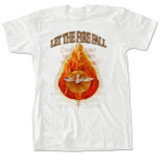 Let The Fire Fall White T-Shirt