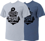 """Our Support is their Hope"" T-shirt"